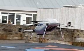三星已经开始使用无人机运输手机