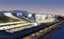 矶崎新最近还完成了卡塔尔国家会议中心的建设