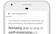 谷歌在搜索中加入焦虑自评